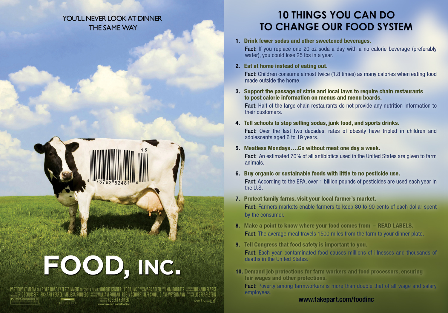 Food inc movie review essay examples